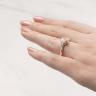 Кольцо с бриллиантом формы радиант, Изображение 6