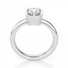 Кольцо из белого золота с бриллиантом радиант, Изображение 2