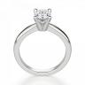 Кольцо из белого золота с бриллиантом овал, Изображение 2