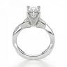 Кольцо из золота с бриллиантом радиант, Изображение 2