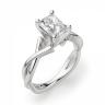Кольцо из золота с бриллиантом радиант, Изображение 3