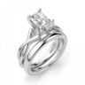 Кольцо из золота с бриллиантом радиант, Изображение 4