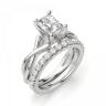 Кольцо из золота с бриллиантом радиант, Изображение 6