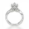 Кольцо из белого золота с бриллиантом маркиз, Изображение 2
