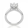 Кольцо из белого золота с бриллиантом кушон, Изображение 2