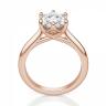 Кольцо с бриллиантом кушон в 6 крапанах, Изображение 2