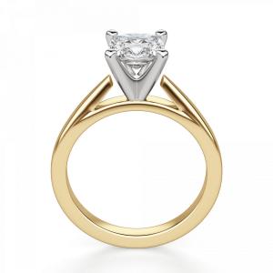 Кольцо из золота с бриллиантом кушон - Фото 1