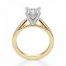 Кольцо из золота с бриллиантом кушон, Изображение 2