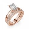 Кольцо с бриллиантом эмеральд, Изображение 5