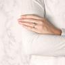 Кольцо классическое с бриллиантом эмеральд, Изображение 8