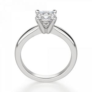 Кольцо классическое с бриллиантом кушон