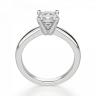Кольцо классическое с бриллиантом кушон, Изображение 2