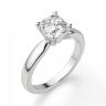 Кольцо классическое с бриллиантом кушон, Изображение 3