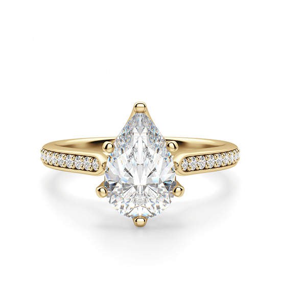 Кольцо с бриллиантами, Больше Изображение 1