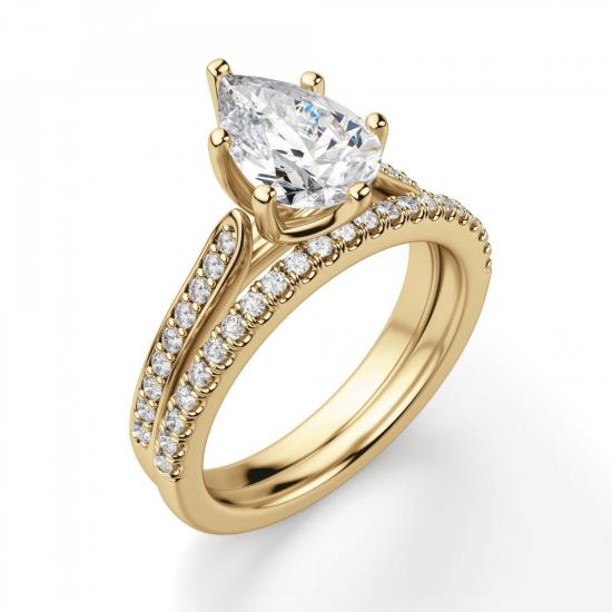 Кольцо с бриллиантами,  Больше Изображение 6