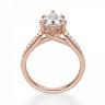Кольцо с бриллиантами Груша, Изображение 2