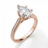 Кольцо с бриллиантами Груша, Изображение 3