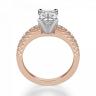 Кольцо c бриллиантом эмеральд, Изображение 2