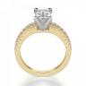 Кольцо из золота c бриллиантом эмеральд, Изображение 2