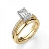 Кольцо из золота c бриллиантом эмеральд, Изображение 4