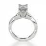 Кольцо с переплетением с бриллиантом эмеральд, Изображение 2