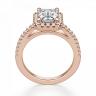 Кольцо бриллиантом эмеральд, Изображение 2