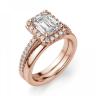 Кольцо бриллиантом эмеральд, Изображение 4