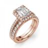 Кольцо бриллиантом эмеральд, Изображение 6