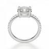 Помолвочное кольцо с бриллиантом овал, Изображение 2