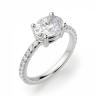 Помолвочное кольцо с бриллиантом овал, Изображение 3