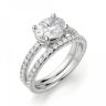 Помолвочное кольцо с бриллиантом овал, Изображение 4