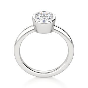 Кольцо с бриллиантом овал