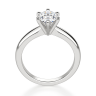 Помолвочное кольцо с бриллиантом овал в 6 крапанах, Изображение 2