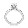 Помолвочное кольцо с бриллиантом овальной огранки, Изображение 2