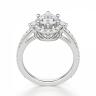 Помолвочное кольцо с бриллиантом овальной формы, Изображение 2