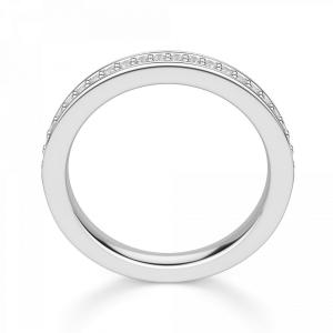Кольцо дорожка с бриллиантами 0.22 кт