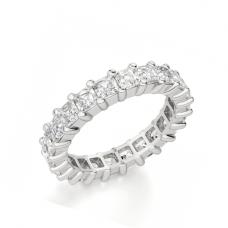 Кольцо дорожка с бриллиантами ашер 2,42 кт