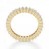 Кольцо дорожка с принцессами 2 кт из золота, Изображение 3