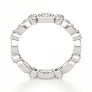 Кольцо дорожка с бриллиантами 0.48 кт