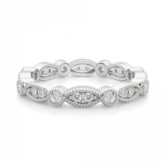 Кольцо дорожка с бриллиантами