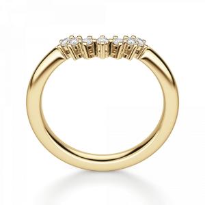 Приставное кольцо с бриллиантами из золота
