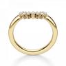 Приставное кольцо с бриллиантами из золота, Изображение 2