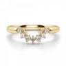Приставное кольцо с бриллиантами из золота, Изображение 3