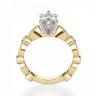 Кольцо с бриллиантом маркиз ажурное, Изображение 2