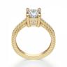 Помолвочное кольцо Принцесса из желтого золота, Изображение 2