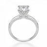 Помолвочное кольцо с бриллиантом Принцесса, Изображение 2
