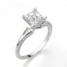 Помолвочное кольцо с бриллиантом Принцесса, Изображение 4