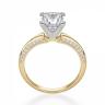 Помолвочное кольцо принцесса с раздвоением, Изображение 2