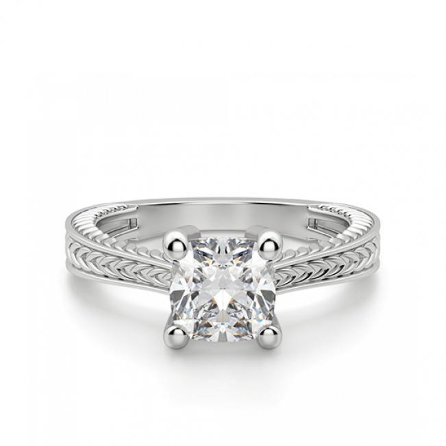 Помолвочное кольцо кушон