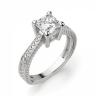 Помолвочное кольцо кушон, Изображение 3